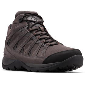 Columbia Redmond V2 LTR WP Zapatillas Mid Hombre, dark grey/madder brown